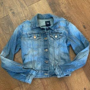 girls XS gap jeans jacket